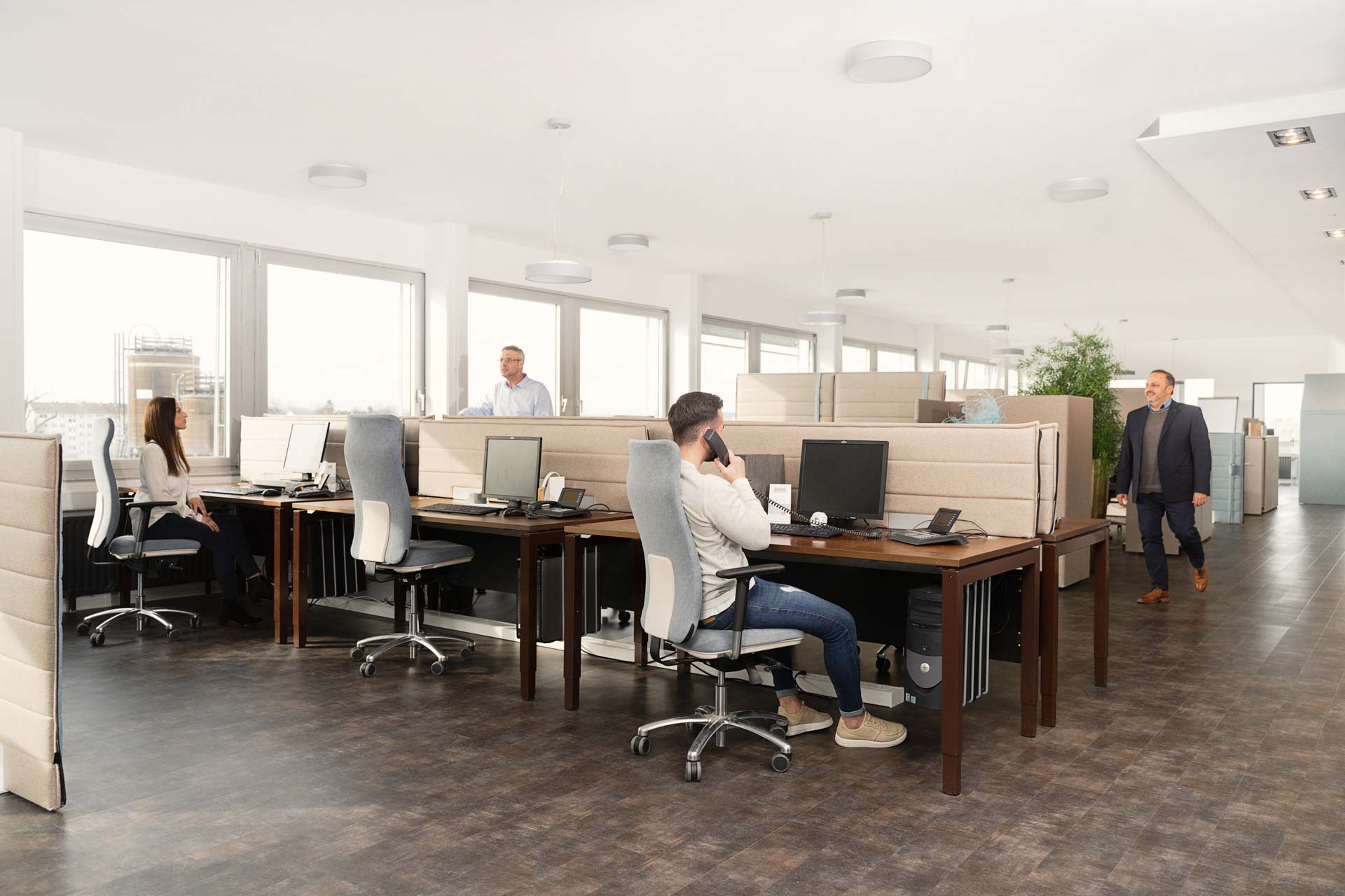 gesund arbeiten gmbh - Ergonomische Büroeinrichtungen