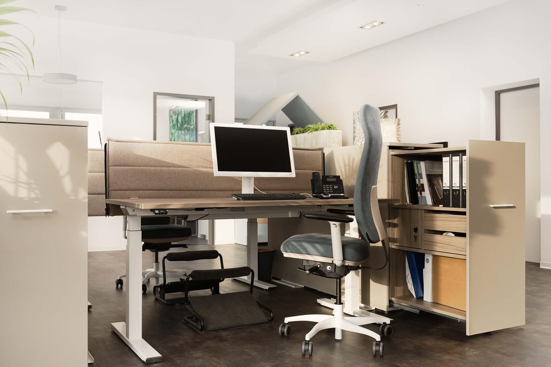 gesund arbeiten gmbh - Ergonomische Schreibtische