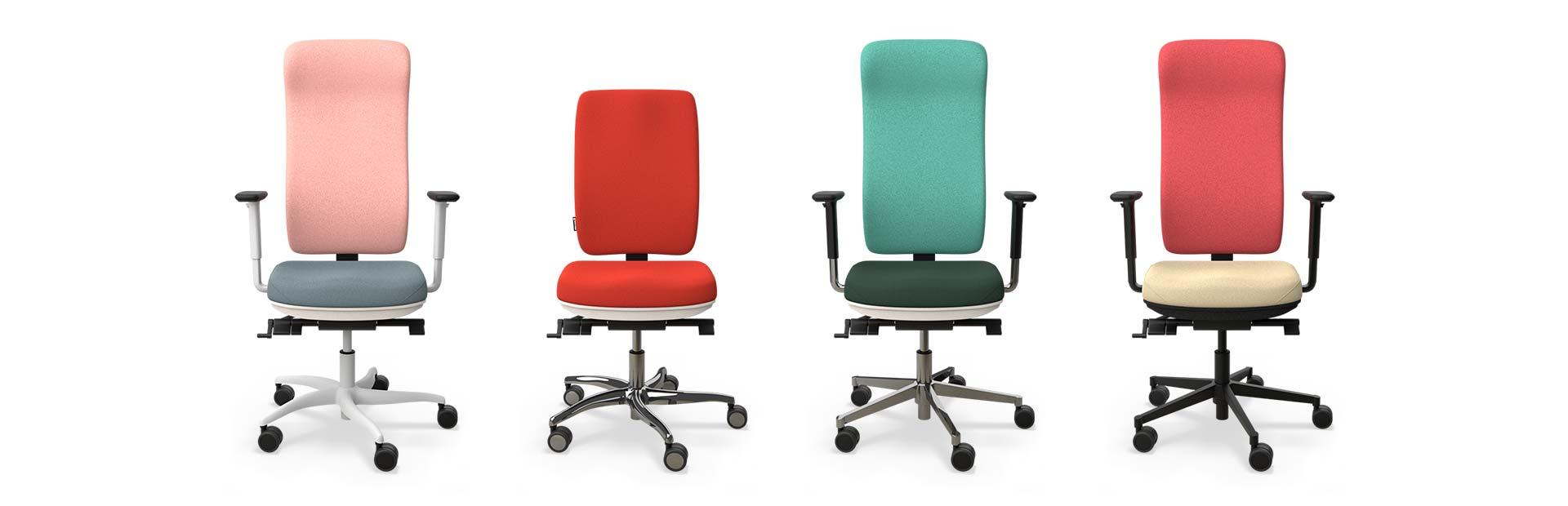 Individuelle Bürostühle für das Arbeiten im Büro oder zu Hause