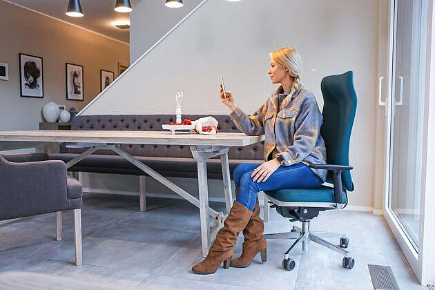 gesund arbeiten Home-Office Gallery