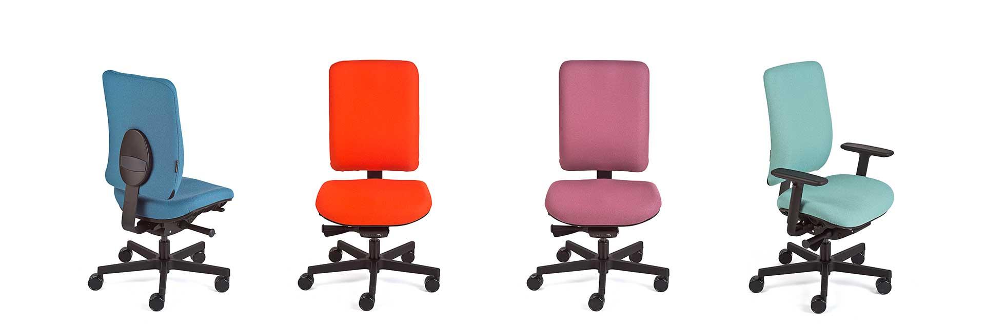 Farben-Vielfalt des Kinder-Bürodrehstuhls motion.junior