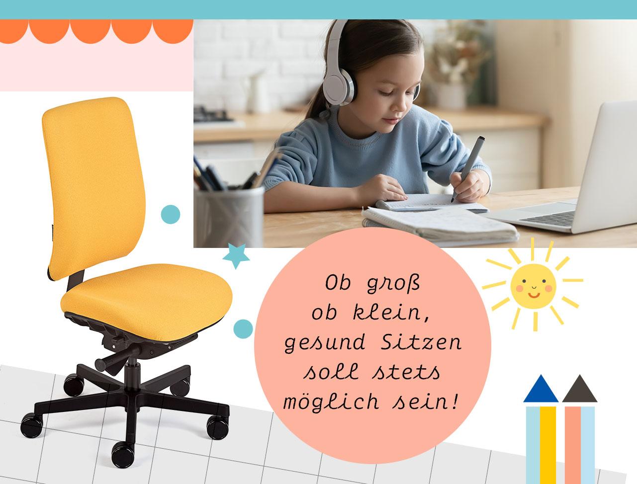 Kinder-Bürodrehstuhl motion.junior